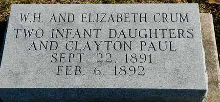 CRUM, CLAYTON PAUL - Richland County, Ohio | CLAYTON PAUL CRUM - Ohio Gravestone Photos
