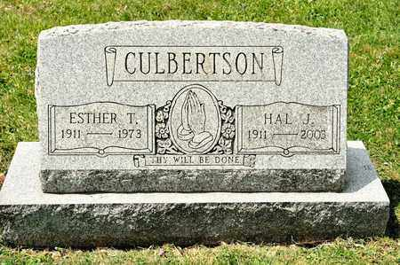 CULBERTSON, ESTHER T - Richland County, Ohio | ESTHER T CULBERTSON - Ohio Gravestone Photos