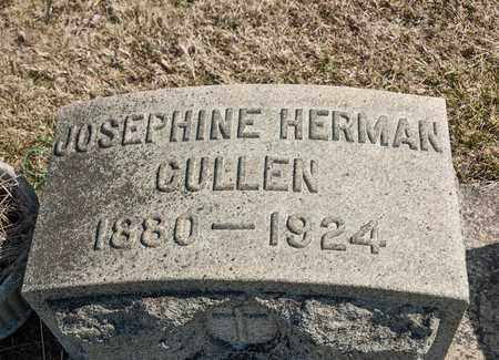 HERMAN CULLEN, JOSEPHINE - Richland County, Ohio | JOSEPHINE HERMAN CULLEN - Ohio Gravestone Photos