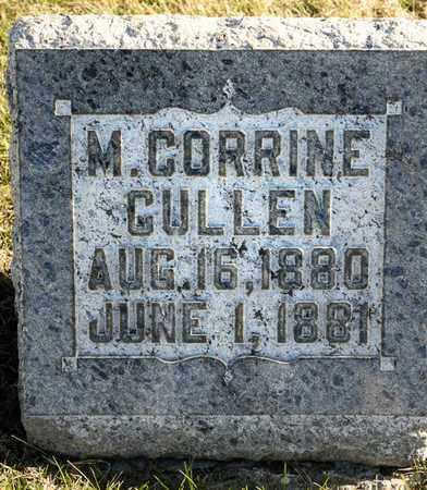CULLEN, M CORRINE - Richland County, Ohio | M CORRINE CULLEN - Ohio Gravestone Photos
