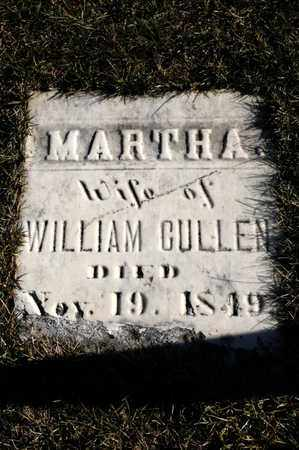 CULLEN, MARTHA - Richland County, Ohio | MARTHA CULLEN - Ohio Gravestone Photos