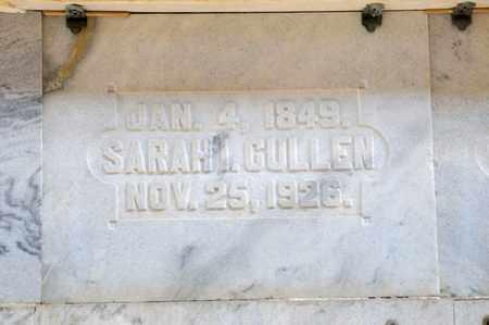 CULLEN, SARAH I - Richland County, Ohio | SARAH I CULLEN - Ohio Gravestone Photos