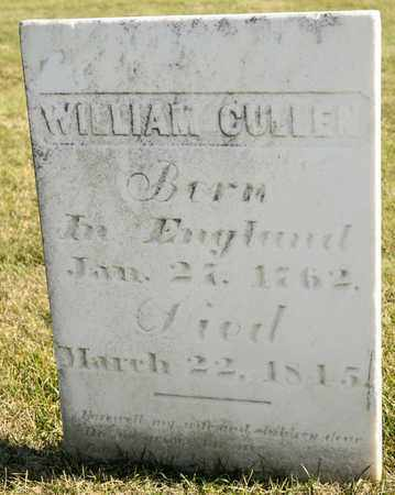 CULLEN, WILLIAM - Richland County, Ohio | WILLIAM CULLEN - Ohio Gravestone Photos
