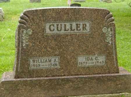 CULLER, WILLIAM A. - Richland County, Ohio | WILLIAM A. CULLER - Ohio Gravestone Photos
