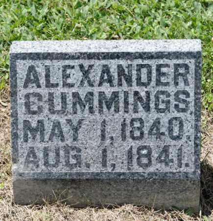 CUMMINGS, ALEXANDER - Richland County, Ohio | ALEXANDER CUMMINGS - Ohio Gravestone Photos