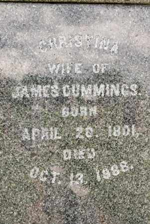 CUMMINGS, CHRISTINA - Richland County, Ohio | CHRISTINA CUMMINGS - Ohio Gravestone Photos