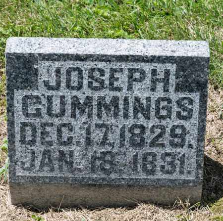 CUMMINGS, JOSEPH - Richland County, Ohio | JOSEPH CUMMINGS - Ohio Gravestone Photos