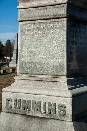 CUMMINS, JANE - Richland County, Ohio | JANE CUMMINS - Ohio Gravestone Photos