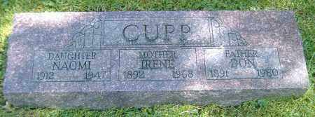 CUPP, BERTHA IRENE - Richland County, Ohio | BERTHA IRENE CUPP - Ohio Gravestone Photos