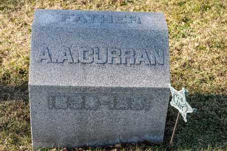 CURRAN, A A - Richland County, Ohio | A A CURRAN - Ohio Gravestone Photos