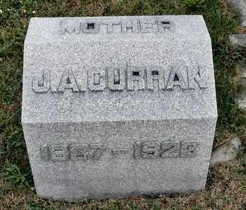 CURRAN, J A - Richland County, Ohio | J A CURRAN - Ohio Gravestone Photos