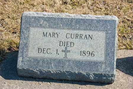 CURRAN, MARY - Richland County, Ohio | MARY CURRAN - Ohio Gravestone Photos