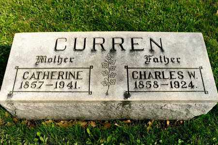 CURREN, CATHERINE - Richland County, Ohio | CATHERINE CURREN - Ohio Gravestone Photos