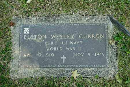 CURREN, ELSTON WESLEY - Richland County, Ohio | ELSTON WESLEY CURREN - Ohio Gravestone Photos