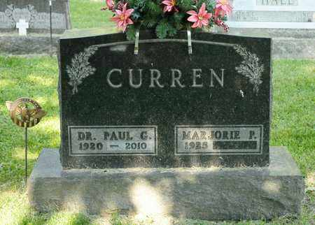 CURREN, PAUL G - Richland County, Ohio | PAUL G CURREN - Ohio Gravestone Photos