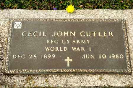 CUTLER, CECIL JOHN - Richland County, Ohio | CECIL JOHN CUTLER - Ohio Gravestone Photos