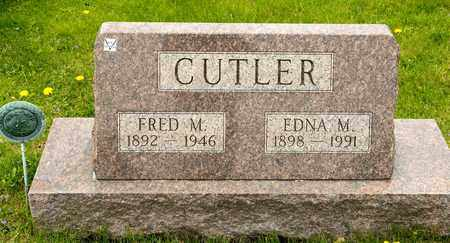 CUTLER, FRED M - Richland County, Ohio | FRED M CUTLER - Ohio Gravestone Photos