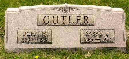 CUTLER, SARAH J - Richland County, Ohio | SARAH J CUTLER - Ohio Gravestone Photos