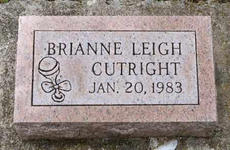 CUTRIGHT, BRIANNE LEIGH - Richland County, Ohio   BRIANNE LEIGH CUTRIGHT - Ohio Gravestone Photos