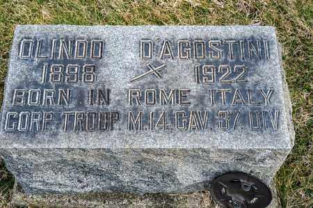 D'AGOSTINI, OLINDO - Richland County, Ohio | OLINDO D'AGOSTINI - Ohio Gravestone Photos