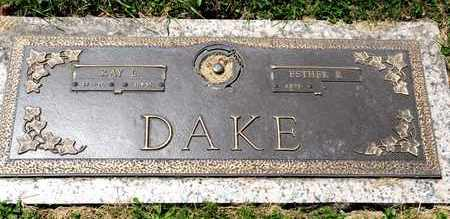 DAKE, RAY L - Richland County, Ohio | RAY L DAKE - Ohio Gravestone Photos