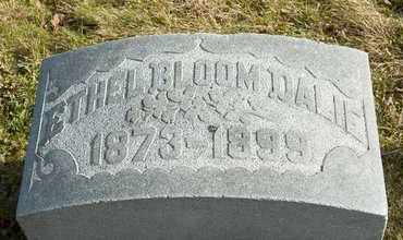 BLOOM DALIE, ETHEL - Richland County, Ohio | ETHEL BLOOM DALIE - Ohio Gravestone Photos