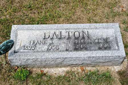 DALTON, FRANK J - Richland County, Ohio | FRANK J DALTON - Ohio Gravestone Photos