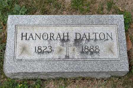 DALTON, HANORAH - Richland County, Ohio | HANORAH DALTON - Ohio Gravestone Photos