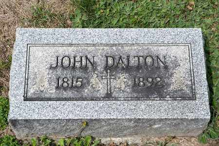 DALTON, JOHN - Richland County, Ohio | JOHN DALTON - Ohio Gravestone Photos