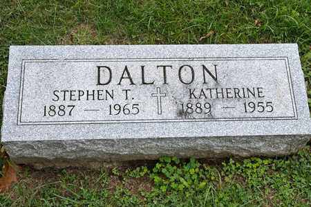 DALTON, KATHERINE - Richland County, Ohio | KATHERINE DALTON - Ohio Gravestone Photos