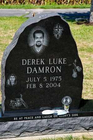 DAMRON, DEREK LUKE - Richland County, Ohio | DEREK LUKE DAMRON - Ohio Gravestone Photos