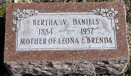 DANIELS, BERTHA V - Richland County, Ohio | BERTHA V DANIELS - Ohio Gravestone Photos