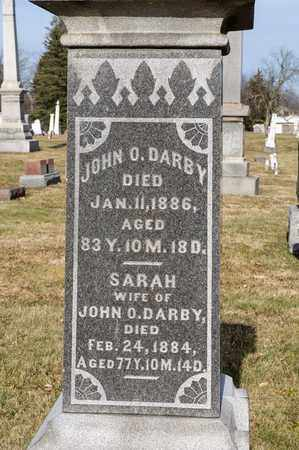 DARBY, SARAH - Richland County, Ohio | SARAH DARBY - Ohio Gravestone Photos