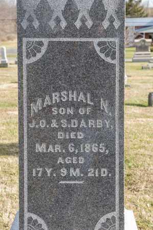 DARBY, MARSHAL N - Richland County, Ohio | MARSHAL N DARBY - Ohio Gravestone Photos