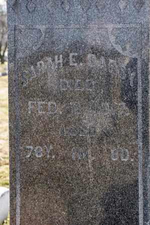 DARBY, SARAH E - Richland County, Ohio | SARAH E DARBY - Ohio Gravestone Photos