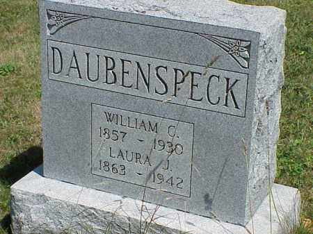 DAUBENSPECK, WILLIAM C. - Richland County, Ohio | WILLIAM C. DAUBENSPECK - Ohio Gravestone Photos
