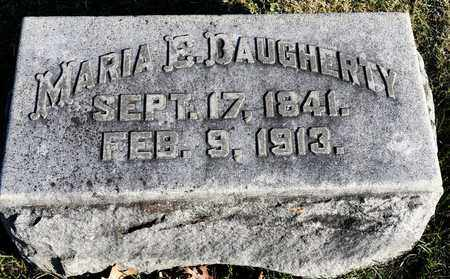 DAUGHERTY, MARIA E - Richland County, Ohio | MARIA E DAUGHERTY - Ohio Gravestone Photos