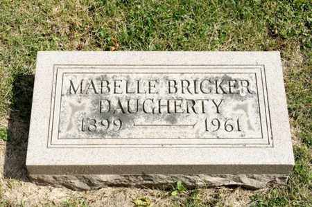 DAUGHERTY, MABELLE - Richland County, Ohio | MABELLE DAUGHERTY - Ohio Gravestone Photos