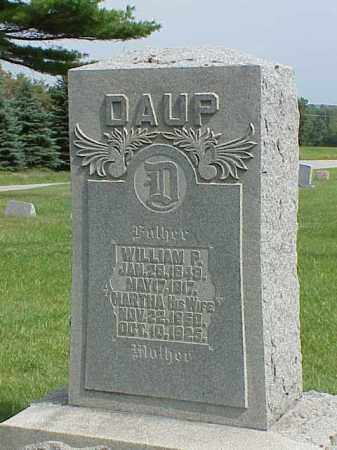 DAUP, WILLIAM P. - Richland County, Ohio | WILLIAM P. DAUP - Ohio Gravestone Photos