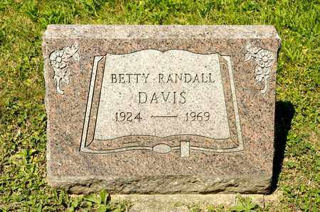 DAVIS, BETTY - Richland County, Ohio | BETTY DAVIS - Ohio Gravestone Photos