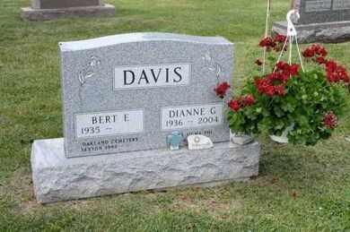 DAVIS, DIANNE G - Richland County, Ohio | DIANNE G DAVIS - Ohio Gravestone Photos