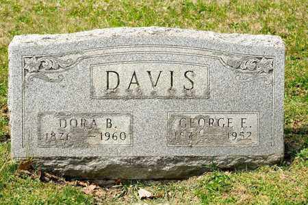 DAVIS, GEORGE E - Richland County, Ohio | GEORGE E DAVIS - Ohio Gravestone Photos