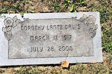 LANTZ DAVIS, DOROTHY - Richland County, Ohio | DOROTHY LANTZ DAVIS - Ohio Gravestone Photos