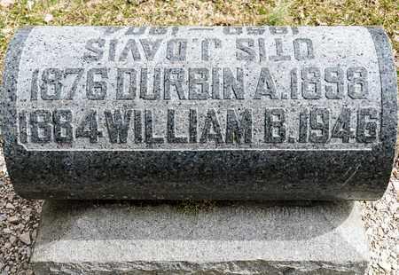 DAVIS, WILLIAM B - Richland County, Ohio | WILLIAM B DAVIS - Ohio Gravestone Photos