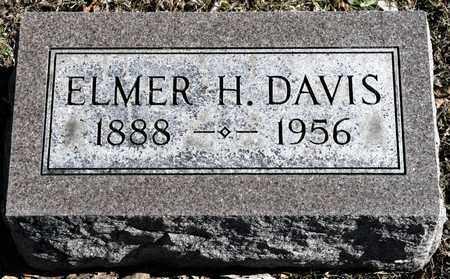 DAVIS, ELMER H - Richland County, Ohio | ELMER H DAVIS - Ohio Gravestone Photos