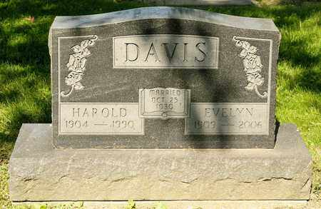 DAVIS, EVELYN - Richland County, Ohio | EVELYN DAVIS - Ohio Gravestone Photos