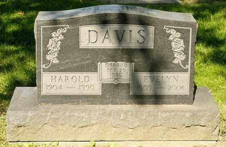 DAVIS, HAROLD - Richland County, Ohio | HAROLD DAVIS - Ohio Gravestone Photos