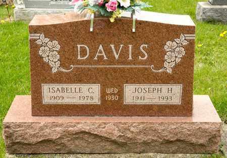 DAVIS, ISABELLE C - Richland County, Ohio | ISABELLE C DAVIS - Ohio Gravestone Photos