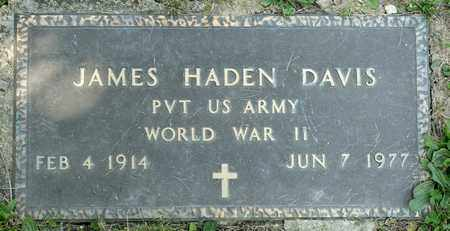 DAVIS, JAMES HADEN - Richland County, Ohio | JAMES HADEN DAVIS - Ohio Gravestone Photos