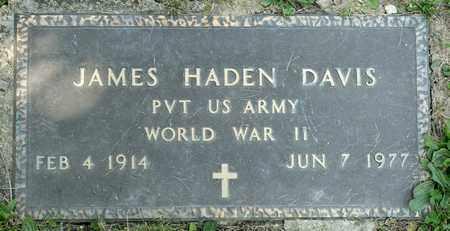 DAVIS, JAMES HADEN - Richland County, Ohio | JAMES HADEN DAVIS - Ohio Gravestone Photos